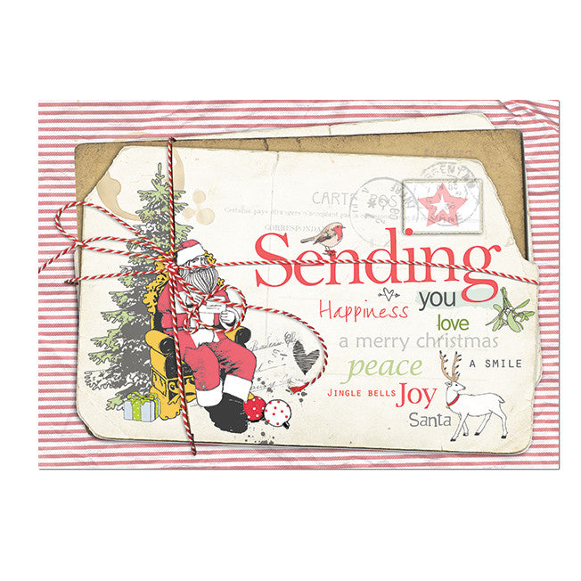 X-mas Sending you Postcard|X-mas Sending you Postkaart