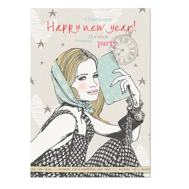 Happy new year! Postcard|Happy new year! Postkaart