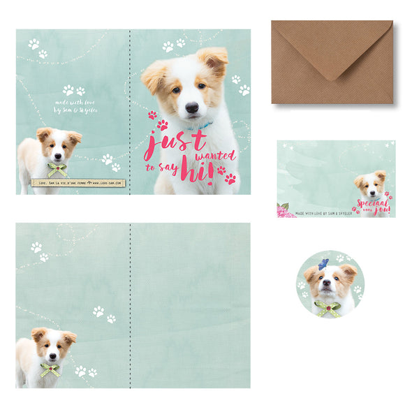 Hi from Skye Greeting card|Hi fromSkye Wenskaart