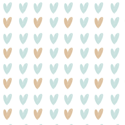 Hearts Wallpaper multi|Hearts behang multi