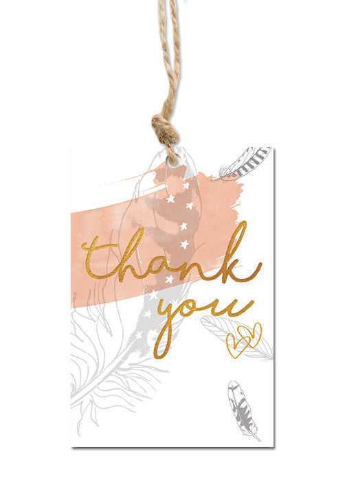 Thank you Gift tag|Thank you Cadeaulabel