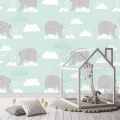 Elephant Wallpaper|Olifant behang
