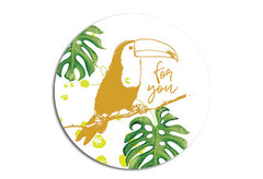 Toucan Seal sticker|Toekan Sluitzegel