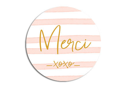 Merci Seal sticker|Merci Sluitzegel