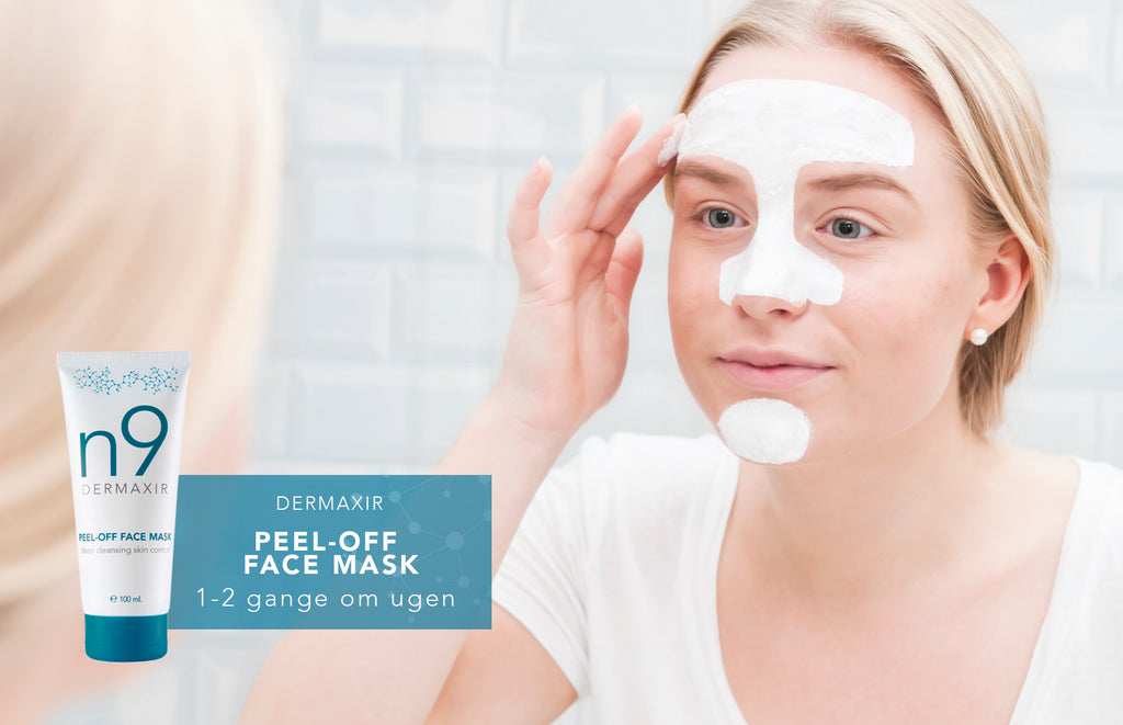 peel-off face mask mod hudorme
