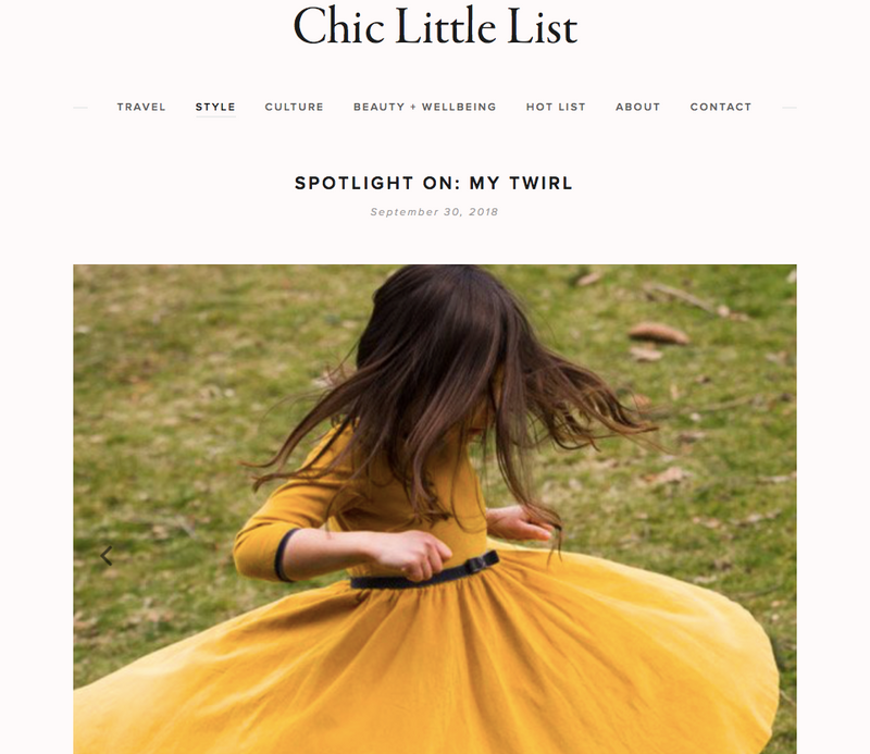 Chic Little List: Spotlight on MyTwirl