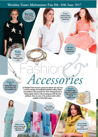 Wealden Times Summer Fair fashion and accessories editorial with MyTwirl