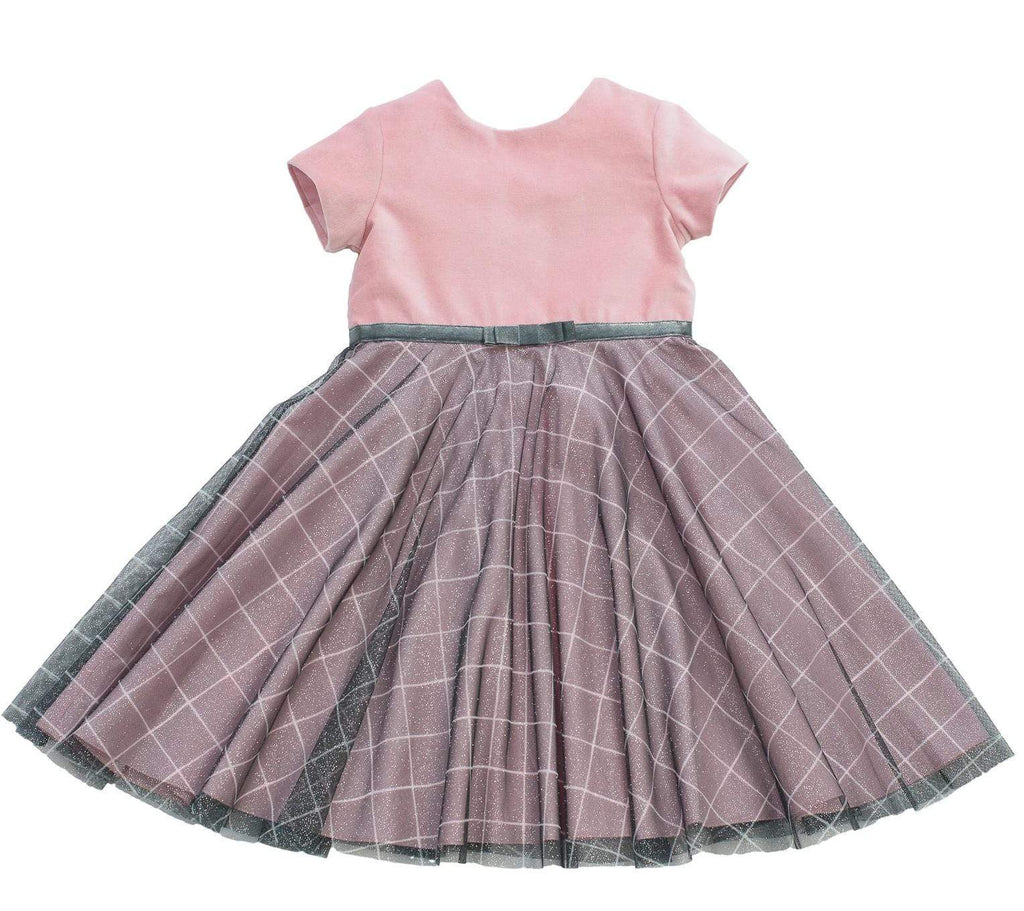 MyTwirl Dress 3/4 Elisabeth Pink twirly dress