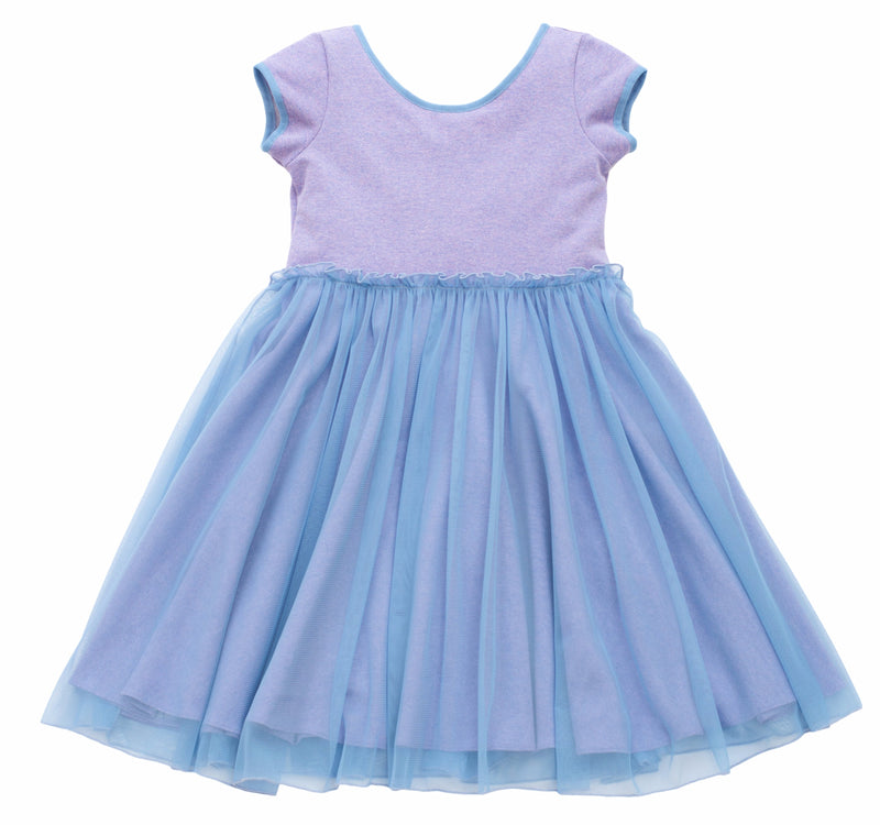 MyTwirl Dress 3/4 / lavender Cassie Lavender twirly dress