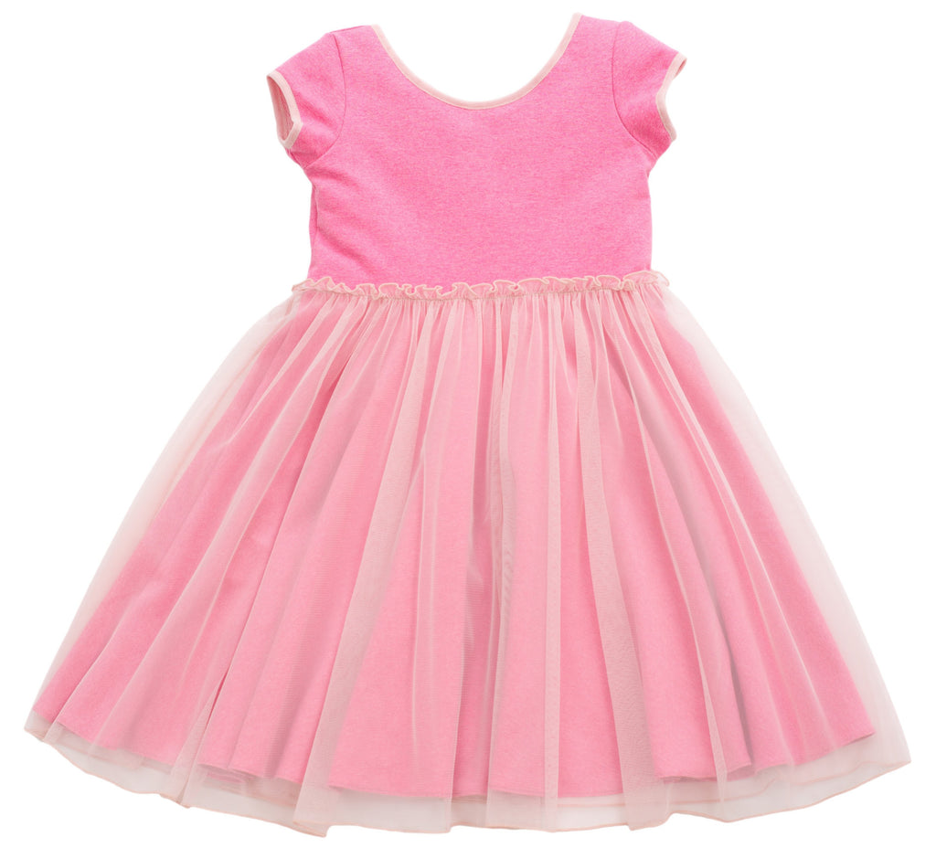 MyTwirl Dress 3/4 / pink Cassie Pink twirly dress