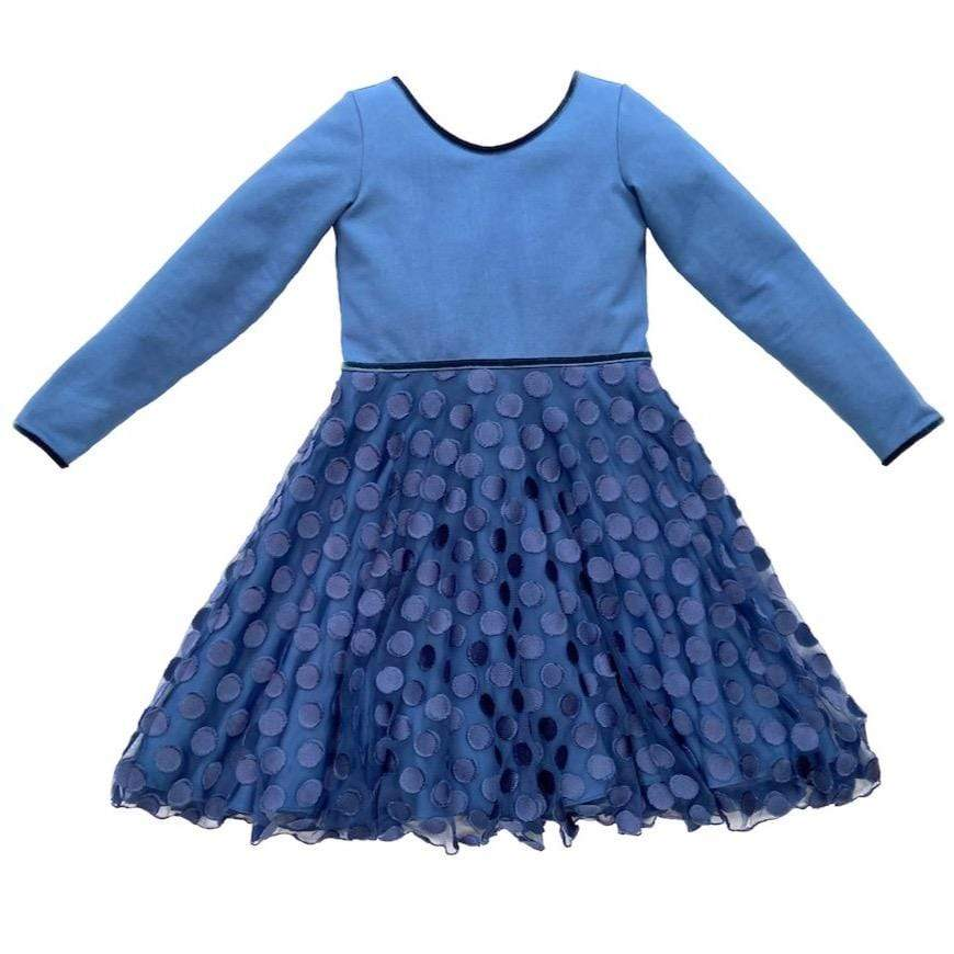 MyTwirl Dress Ava Blue twirly dress