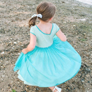 MyTwirl Dress Cassie Green twirly dress