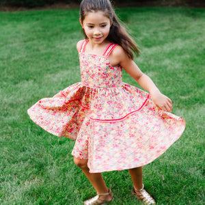 MyTwirl Dress Hannah Red twirly dress