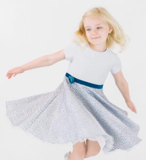 MyTwirl Dress Rose twirly dress