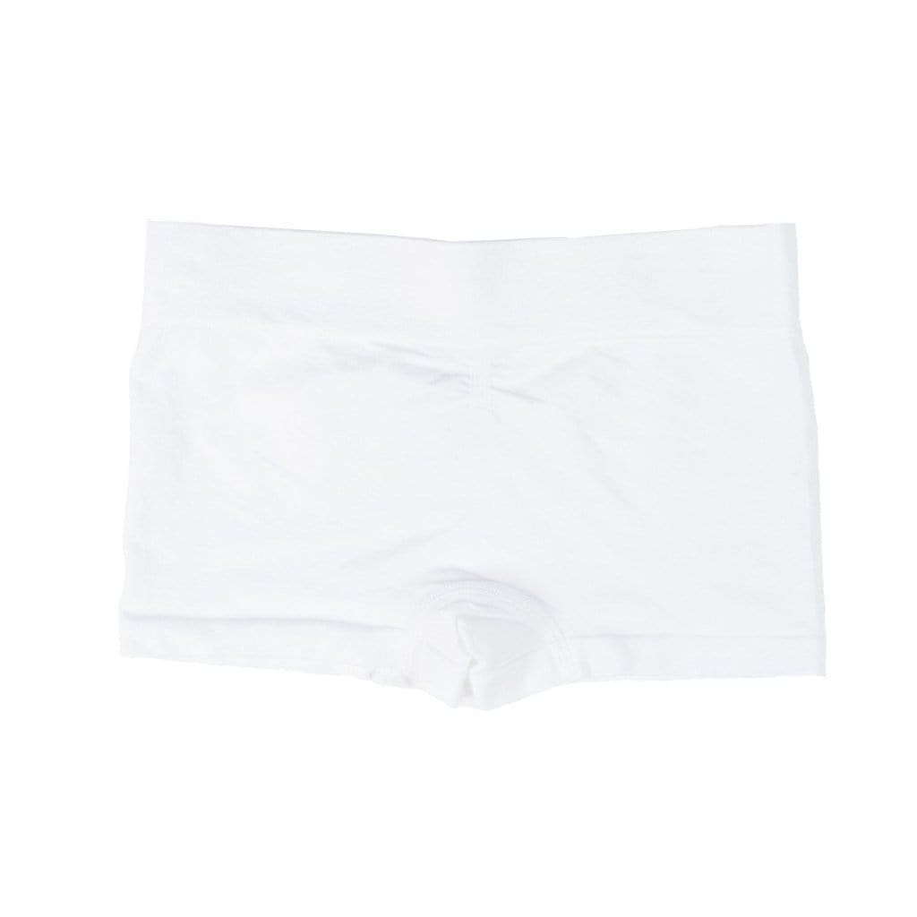 MyTwirl shorts 6-8 / White Twirl Shorts (white and navy) twirly dress