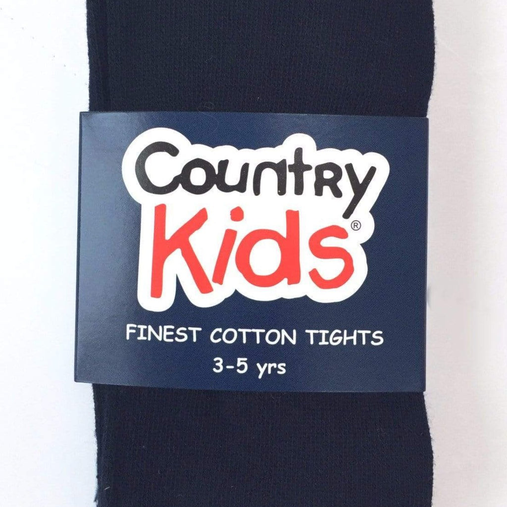 MyTwirl Tights 3-5 / Navy Luxury Cotton Tights (more colours available) twirly dress