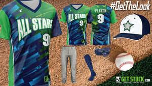 All Stars Pullover V-Neck Shock Uni Package