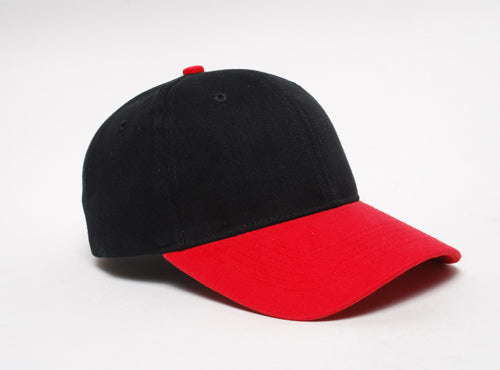 Black/Red Pacific 101C Brushed Twill