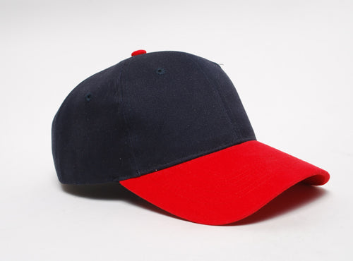 Navy/Red Pacific 101C Brushed Twill