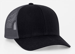 Black/Graphite Pacific 104C Trucker Mesh