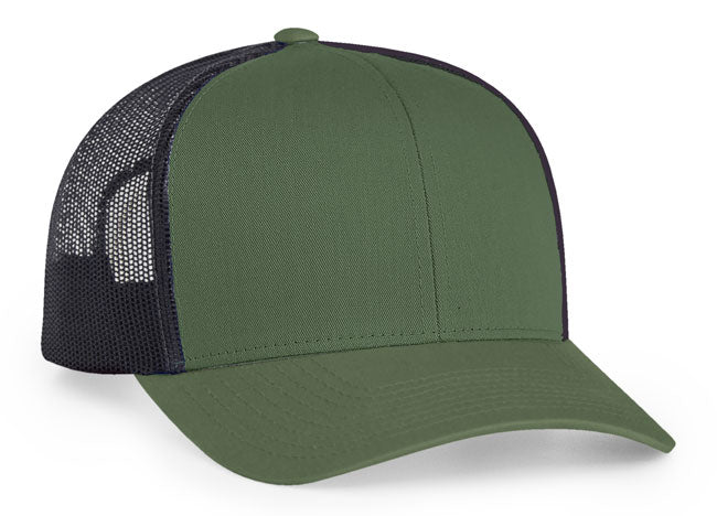 Moss Green Light Charcoal Pacific 104C Trucker Mesh – Get Stuck 2fc1aeb6d58