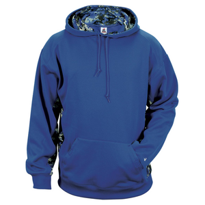 Royal/Royal Badger 2464 Digital Colorblock Youth Hood