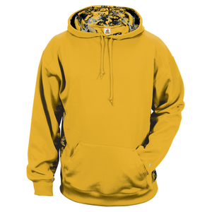 Gold/Gold Badger 1464 Digital Colorblock Hood