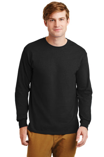 Gildan Ultra Cotton 100% Cotton Long Sleeve Shirt