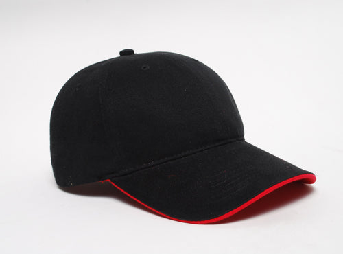 Black/Red Pacific 282C Binded Sadnwich