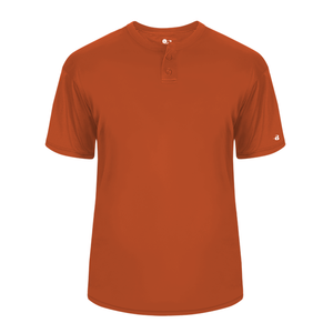 Burnt Orange Badger 2930 B-Core Youth Placket