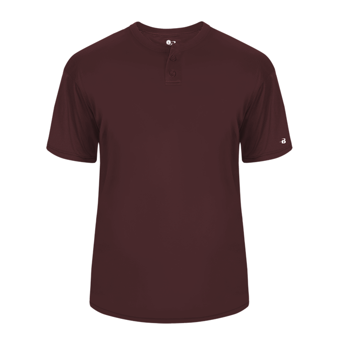 Maroon Badger 7930 B-Core Placket