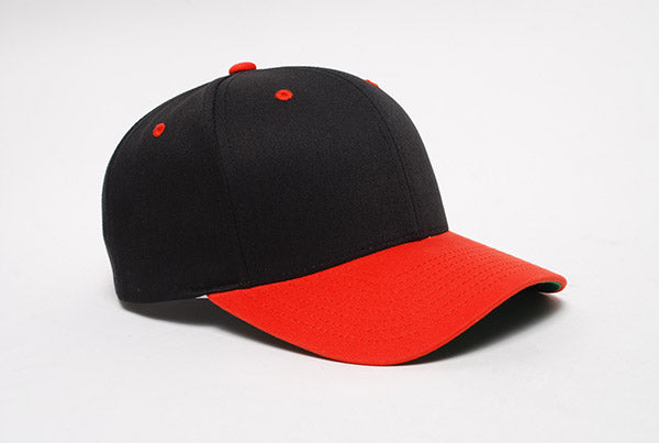 Black/Red Pacific 302C Cotton-Poly