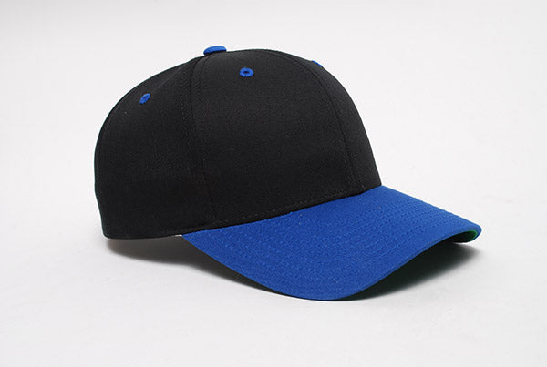 Black/Royal Pacific 302C Cotton-Poly