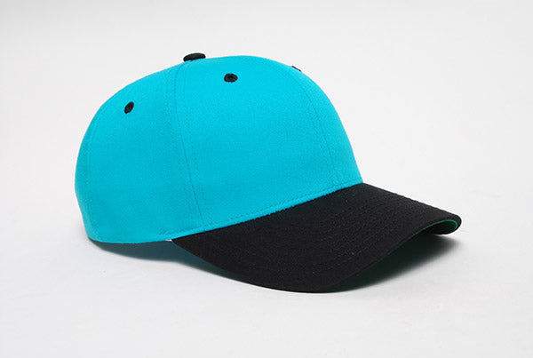 Blue Teal/Black Pacific 302C Cotton-Poly