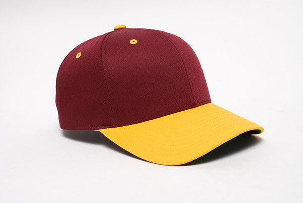 Maroon/Gold Pacific 302C Cotton-Poly