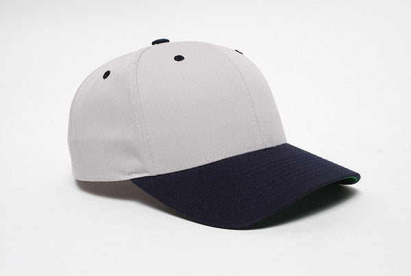 Silver/Navy Pacific 302C Cotton-Poly