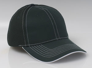 Dark Green/White Pacific 355M Soft Trucker Mesh