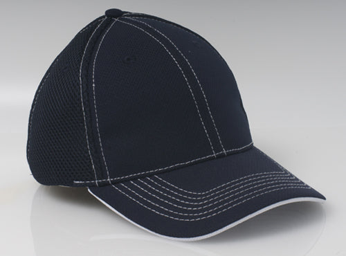 Navy/White Pacific 355M Soft Trucker Mesh