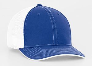 Royal/White Pacific 404M Universal Trucker Mesh Hat