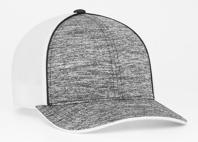 Black Pacific 406F Heather Trucker Mesh