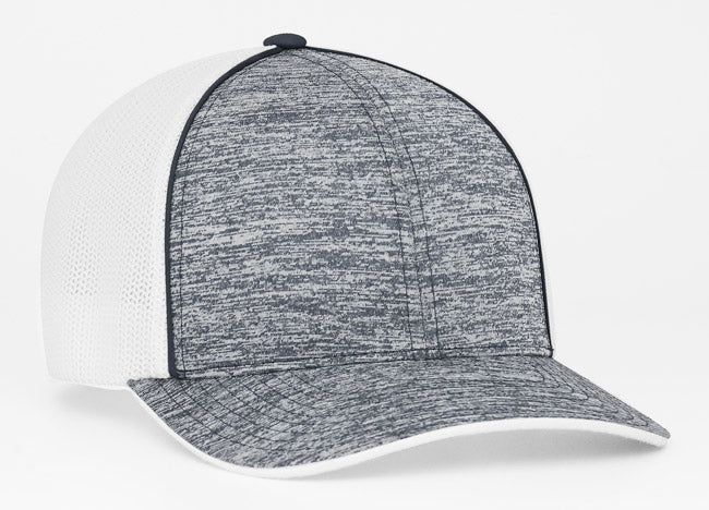 Navy Pacific 406F Heather Trucker Mesh
