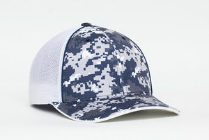 Navy Pacific 408M Digital Camo Trucker Mesh
