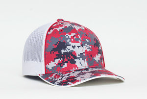Red Pacific 408M Digital Camo Trucker Mesh