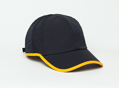 Black/Gold Pacific 410L Lite Series Running Cap