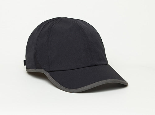 Black/Graphite Pacific 410L Lite Series Running Cap