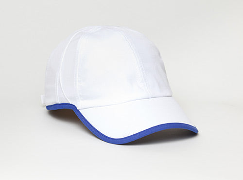 White/Royal Pacific 410L Lite Series Running Cap
