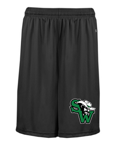 SW Basketball Badger Adult and Youth Pocketed Shorts