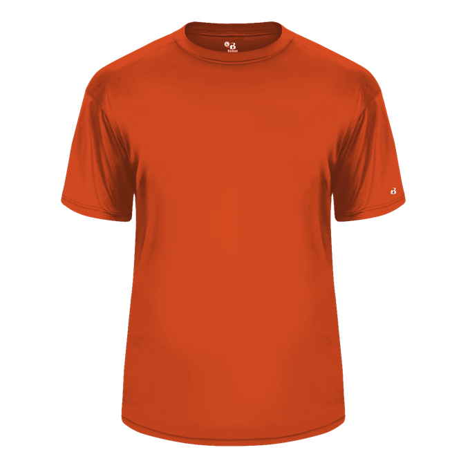 Burnt Orange Badger 2120 B-Core Youth Tee