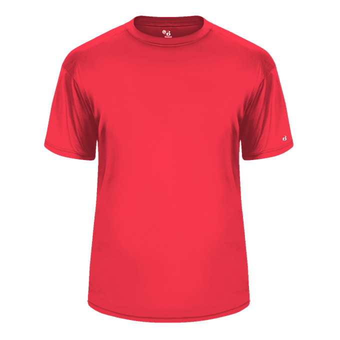 Hot Coral Badger 2120 B-Core Youth Tee