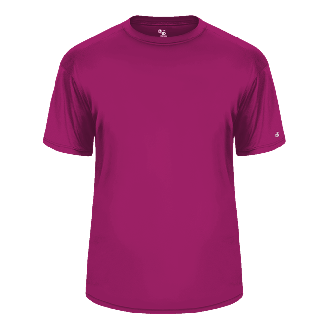 Hot Pink Badger 5100 C2 Tee